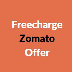 freecharge zomato offer