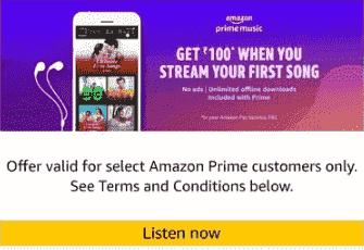 Amazon Music Offer