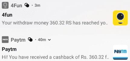 4Fun App Paytm