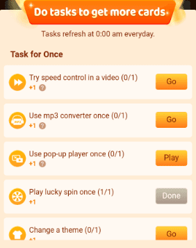 Daily Task