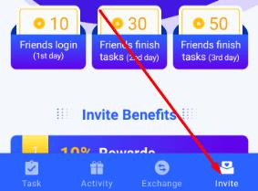 Task Box Invite Code