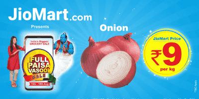 Jiomart Onion Offer
