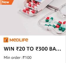 Medlife Amazon Offer