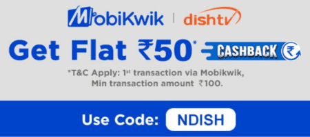 Mobikwik Dish TV Coupon