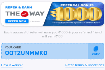 MyTeam11 Referral Codes