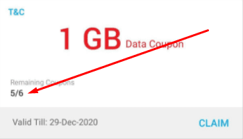 Airtel 6GB free Data