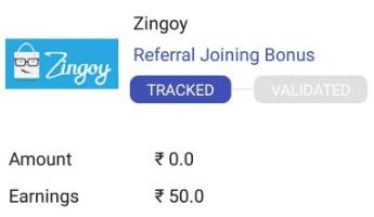 Zingoy Refer and Earn