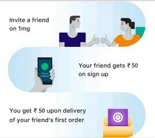 1mg referral code refer