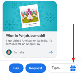 Google Pay Send Scratch Card