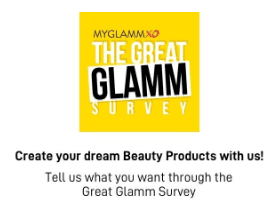 MyGlamm Survey Offer
