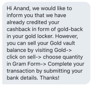 Gold Credited