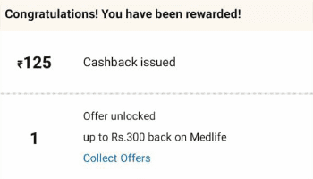 Amazon Scan & Pay Offer Cashback