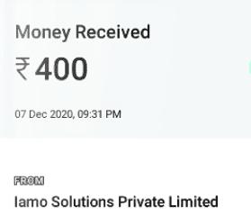 Iamo payments