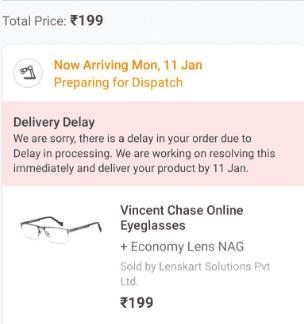 Lenskart Free Eyeglasses