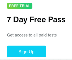 Testbook 7 days Free Pass