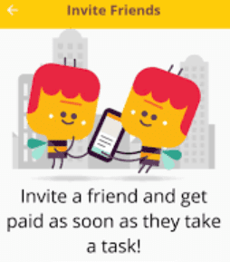 streetbees invite friends