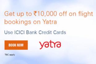 Icici yatra reward offer