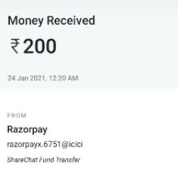 Sharechat rewards