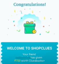 shopclues refer reward