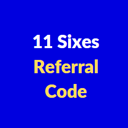 11 sixes referral codes