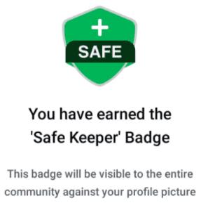 Quick Ride badge