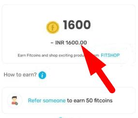 fittr referral rewards