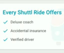 shuttl ride offers