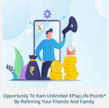 XPay Life refer and earn