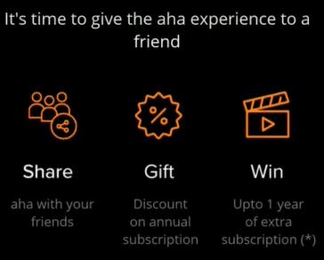 aha subscription