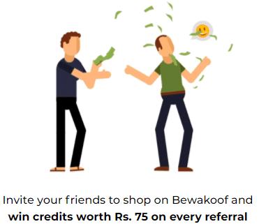 bewakoof code