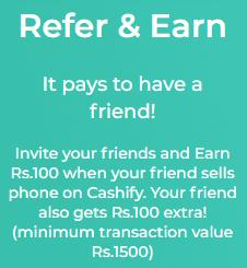 cashify earn