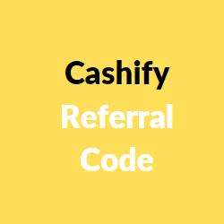 cashify referral code