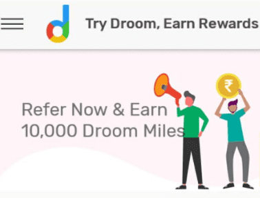 droom refer and earn
