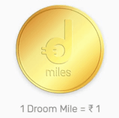 droom referral miles
