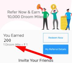 droom reward
