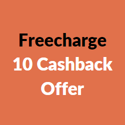 freecharge 10 cashback offer