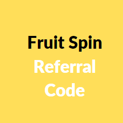 fruit spin referral code