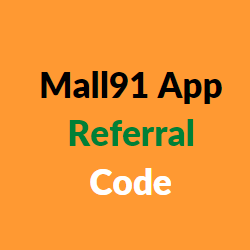 mall 91 app referral code