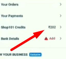 shop101 credits