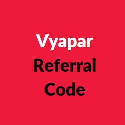vyapar referral codes