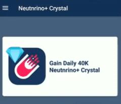Neutrino crystals