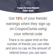 coupondunia earn