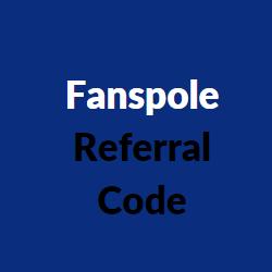 fanspole referral codes