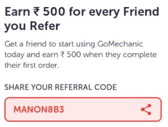 gomechanic referral code