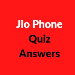 jio phone logo quiz answer