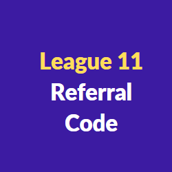 league11 referral codes