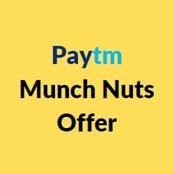 paytm munch nuts offer
