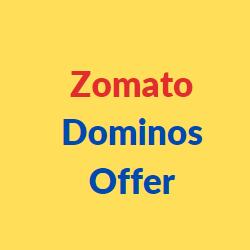 zomato dominos offer