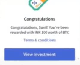 CoinDCX reward