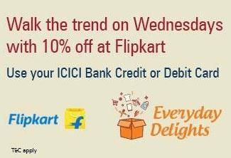 Flipkart icici offer